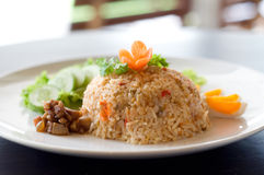 Thai fried rice Stock Image