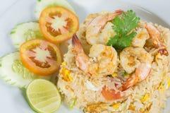 Thai Fried rice  with shrimp Stock Image
