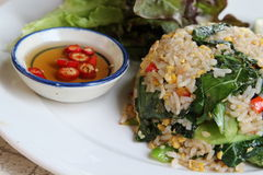 Thai fried rice Stock Photos