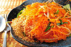 Thai fried vermicelli Stock Images