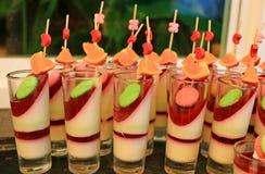 Thai Fruit dessert Stock Photos