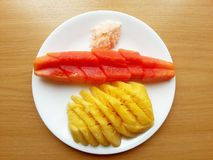 Thai fruits Royalty Free Stock Photography