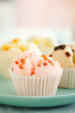 Thai fruity fluffy cupcake Royalty Free Stock Photos