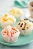 Thai fruity fluffy cupcake Royalty Free Stock Photo