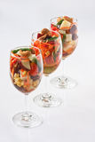 thai fruktsalladstil Royaltyfri Bild
