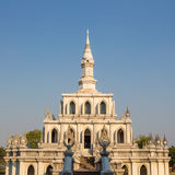 Thai funnel pavilion Royalty Free Stock Photography
