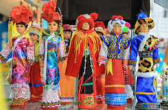 Thai  Funny Dolls. In Moie market thailand Royalty Free Stock Photography