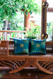 Thai furniture Stock Images