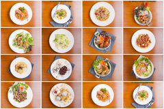Thai fusion food Royalty Free Stock Photo