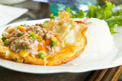 Thai fusion food. Stock Images