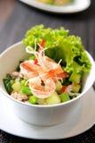 Thai fusion food, seafood salad Royalty Free Stock Image