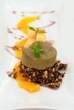 Thai fusion style dessert rice cake Royalty Free Stock Image