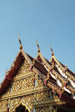Thai gable 2 Royalty Free Stock Image