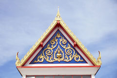 Thai gable Royalty Free Stock Photography