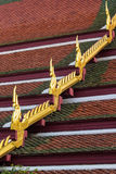 Thai gable roof Stock Photo