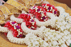 Thai garland Royalty Free Stock Image