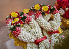 Thai garland Flowers Royalty Free Stock Images