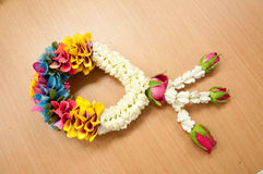 Thai garland Royalty Free Stock Images