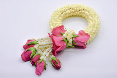 Thai garland royalty free stock photo