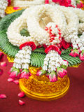Thai garlands Royalty Free Stock Image