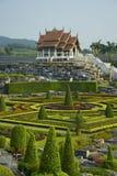 Thai gazebo in a garden Stock Photography