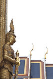 Thai giant. Created to convey meaning to the protection temple or palace Royalty Free Stock Photo