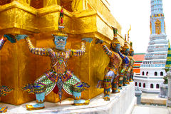 Thai Giant. At Wat Phra Kaew, Thailand Royalty Free Stock Photography