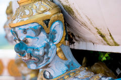 Thai giant closeup face royalty free stock image