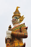 Thai giant. The giant in Thai history Royalty Free Stock Images
