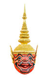 Thai giant khon mask Royalty Free Stock Images