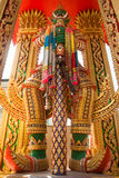 Thai Giant Statue. Guardian of the temple Stock Images