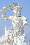 Thai Giant statue, Wat Rong Khun Royalty Free Stock Photo