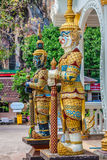 Thai giant statues, giant symbol in Thai temple Royalty Free Stock Photography