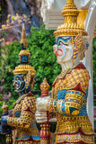 Thai giant statues, giant symbol in Thai temple Stock Images