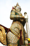 Thai giant of Wat Arun Stock Image