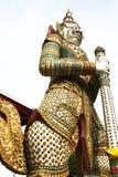 Thai giant of Wat Arun Stock Image