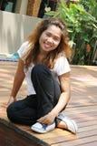 Thai girl. Stock Photo