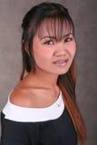 Thai girl with braces Royalty Free Stock Photos