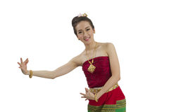 Thai girl dance Royalty Free Stock Photography