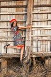 Asian girl posing Stock Photos