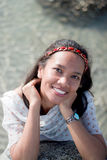 Thai Girl Portrait Royalty Free Stock Photo