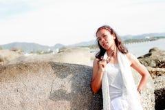Thai Girl Portrait Stock Photography