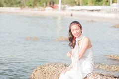 Thai Girl Portrait Stock Photo