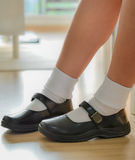 Thai schoolgirl's shoe Stock Photo