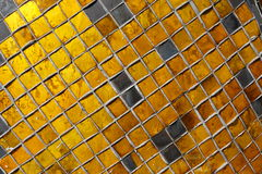 Thai glass mosaic Stock Image