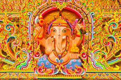 Thai God Ganesha Or God Of Success Stock Image