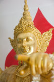 Thai god gold Stock Photos