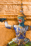Thai god, mythical creature. Thailand Grand Palace stock photos