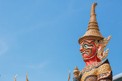 Thai god, mythical creature. Thailand Grand Palace Stock Images