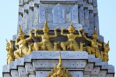 Thai Gold Giant Stock Photography